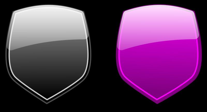 Free Glossy shields 6
