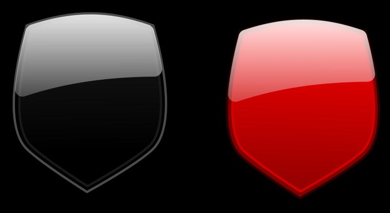 Free Glossy shields 5