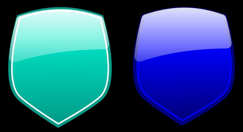 Free Glossy shields 3