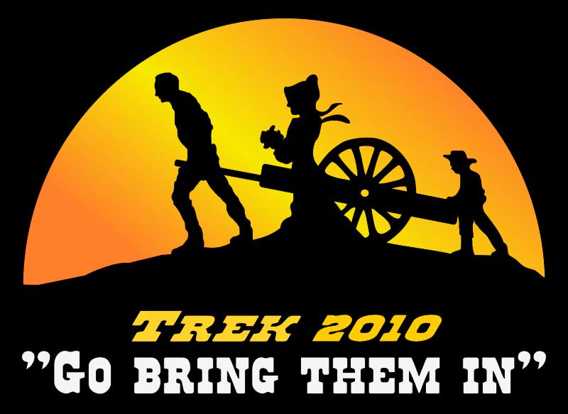 Free Pioneer Trek Logo Color