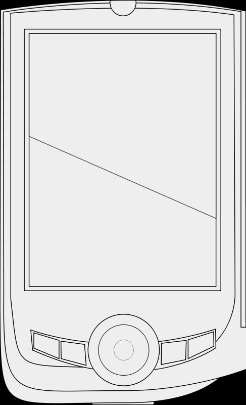 Free PDA line art