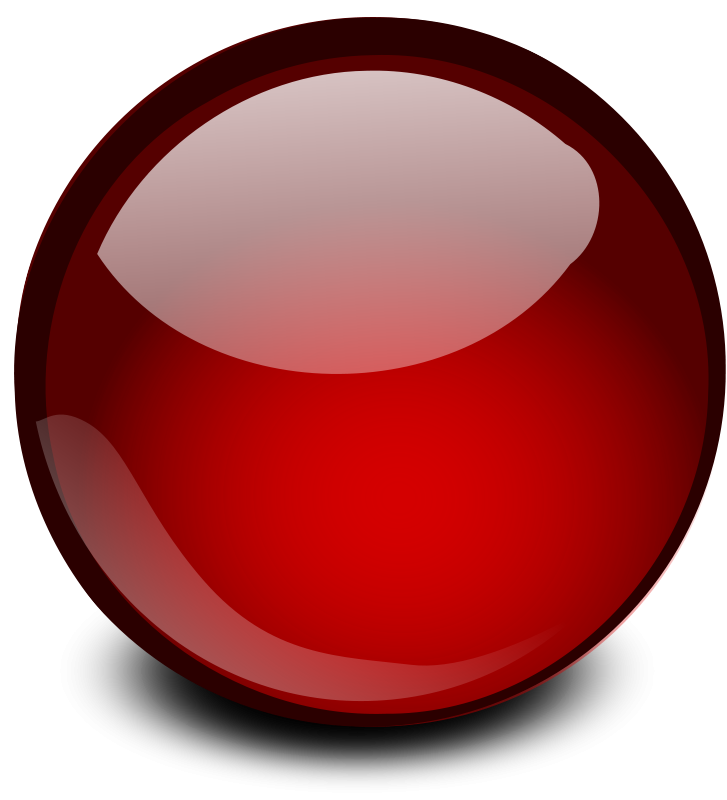 Free Red Glossy Orb