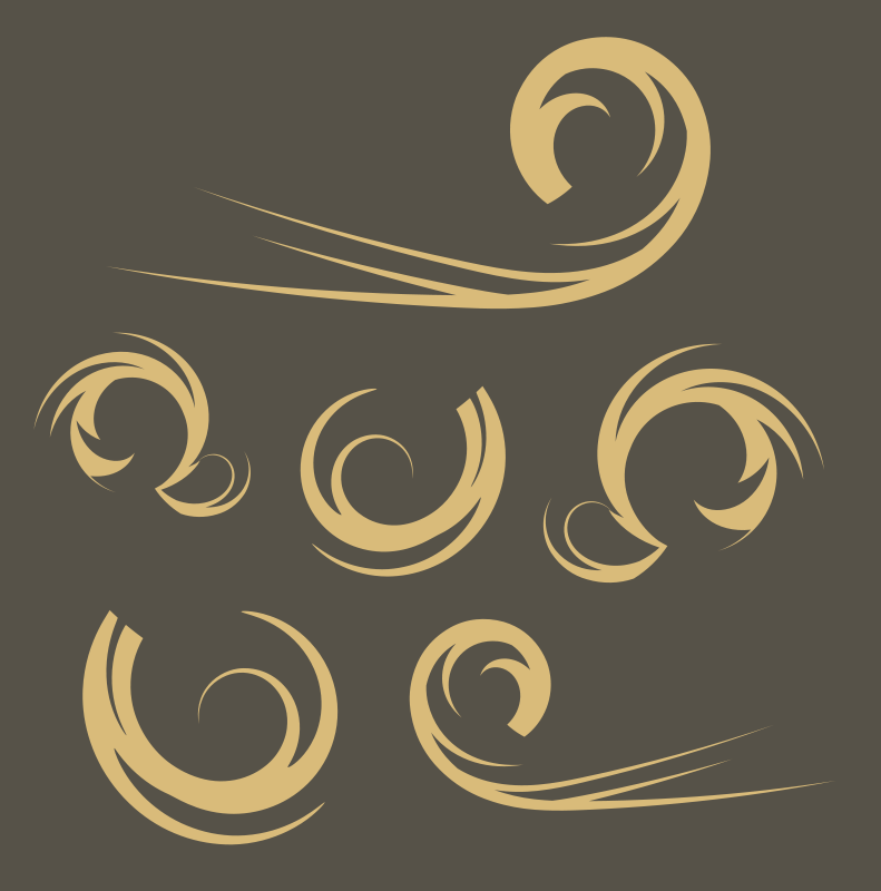 Free Swirls