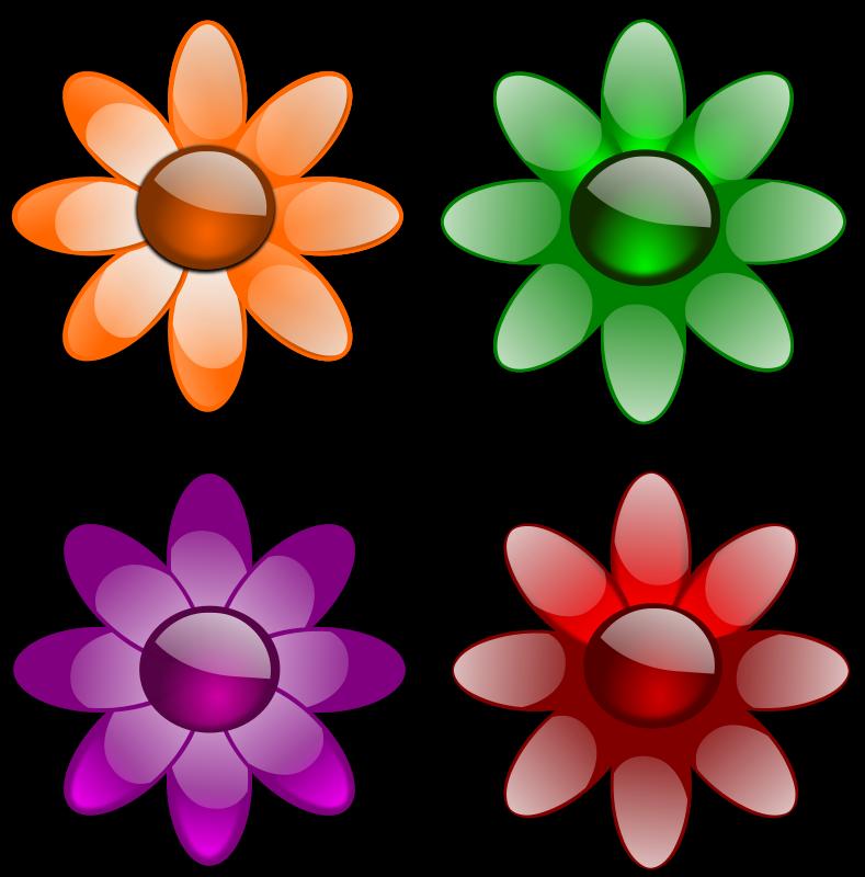 Free Gloss Flowers-1