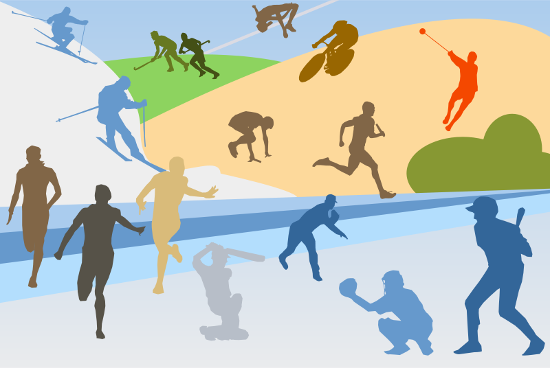 Free Clipart: Sports | shokunin