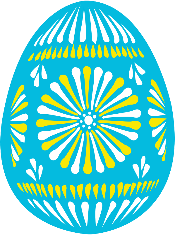 Free easter egg blue