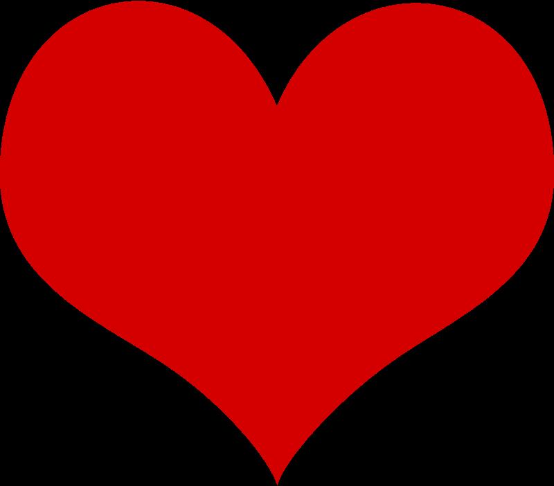 free clipart heart shokunin rh 1001freedownloads com free clipart heart black and white free clipart heart black and white