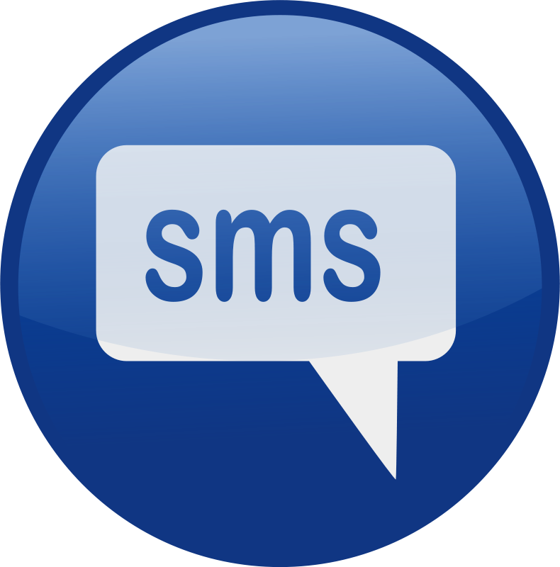 Free sms-blue