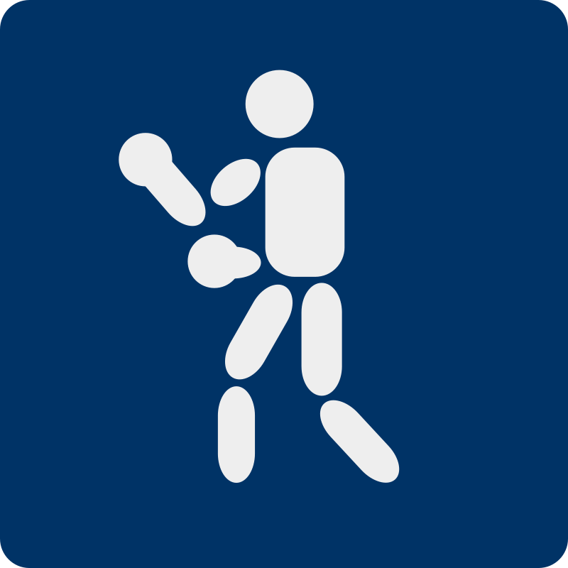 Free boxing pictogram