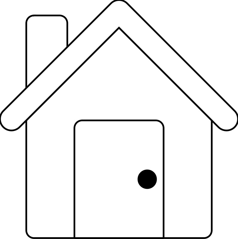 Free House Line Art