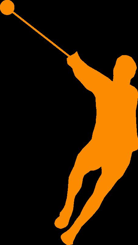 Free hammer throw