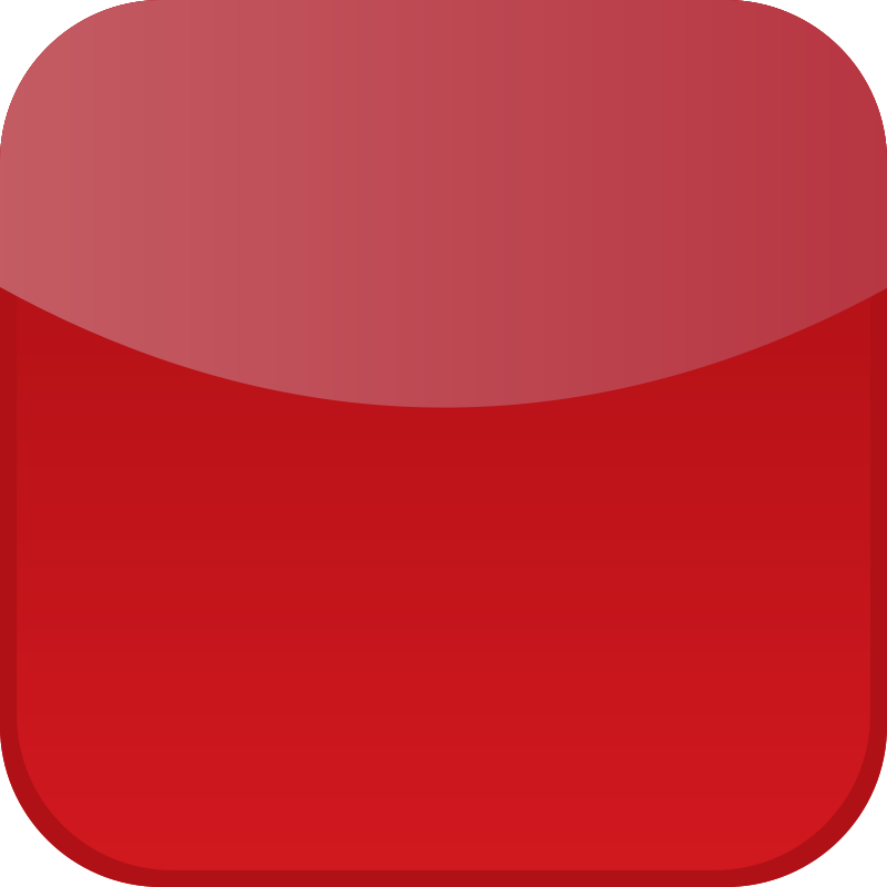 Free Clipart: Red icon | shokunin
