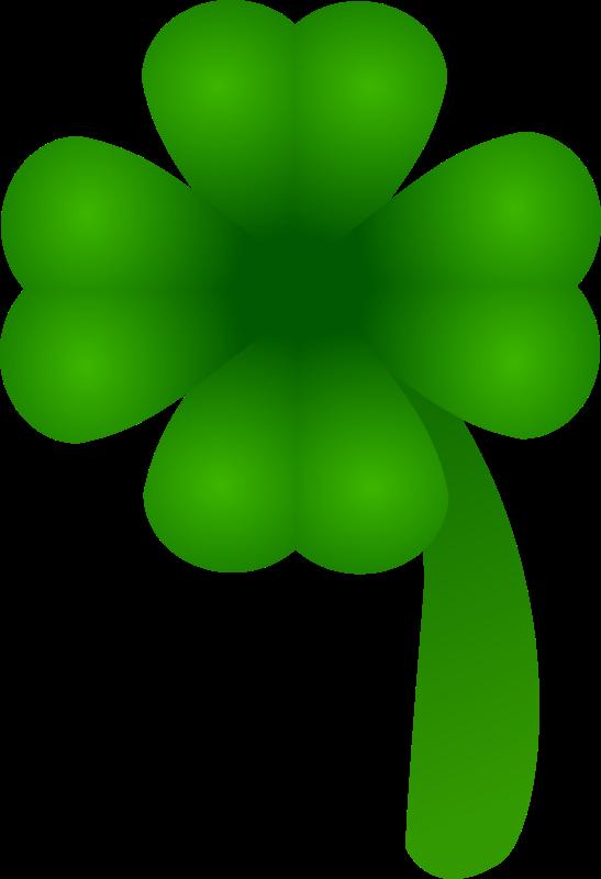 Free clover - four leaf