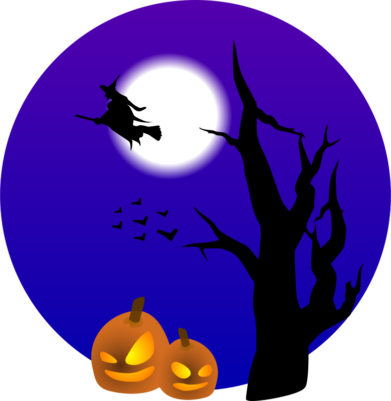 Free Halloween scene