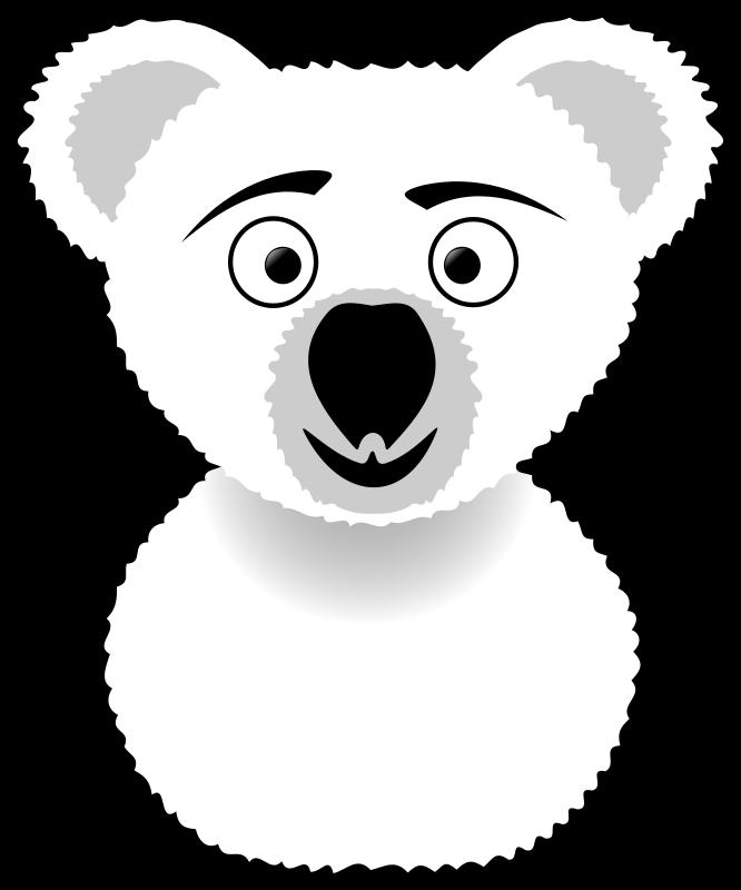 Free Koala Line Art