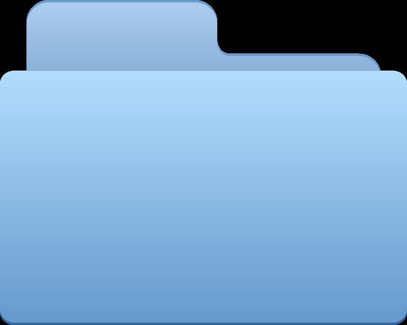 Free Folder - blue