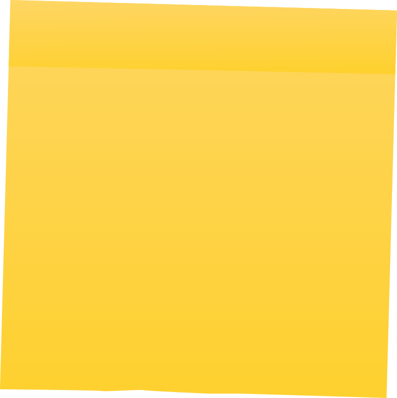 Free Yellow Post It Note