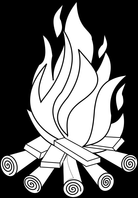 Free Fire Line Art