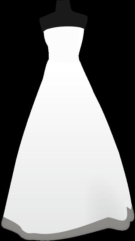 Free Clipart: Wedding dresses | wakro
