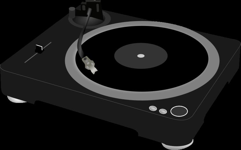 Free DJ turntable