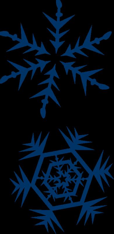 Free Clipart: Snow flakes   shokunin