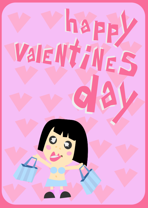 Free Happy Valentines Day Card