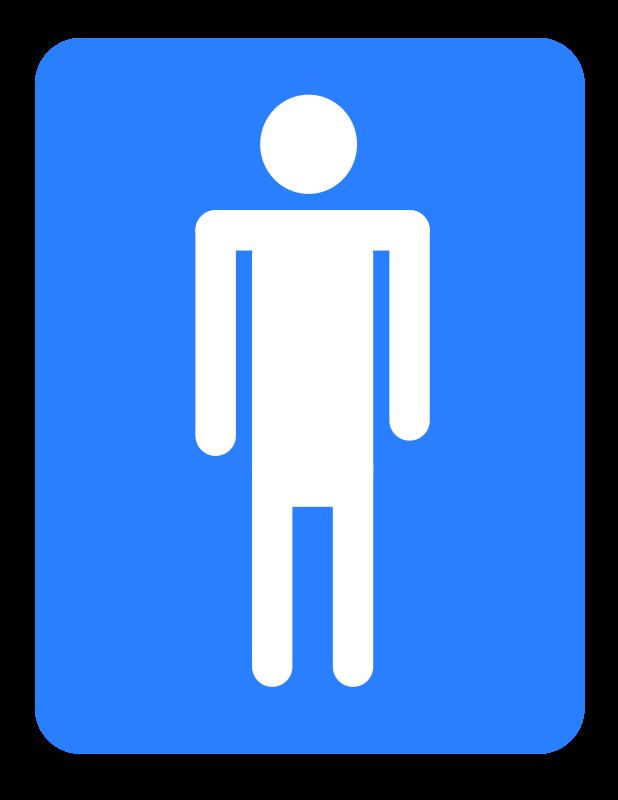 Free Men bathroom.