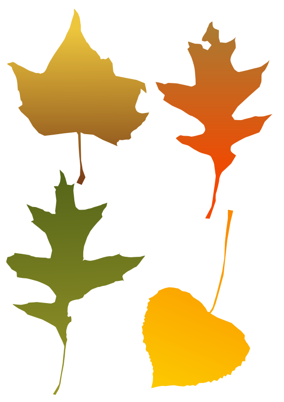 Free Autumn Leaf selection