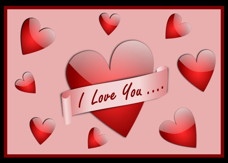 Free I Love You Card