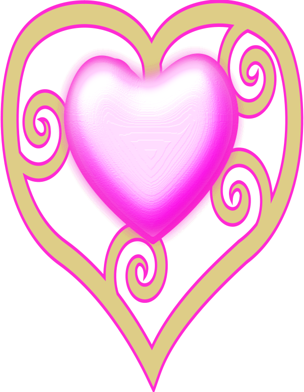 Free princess crown heart