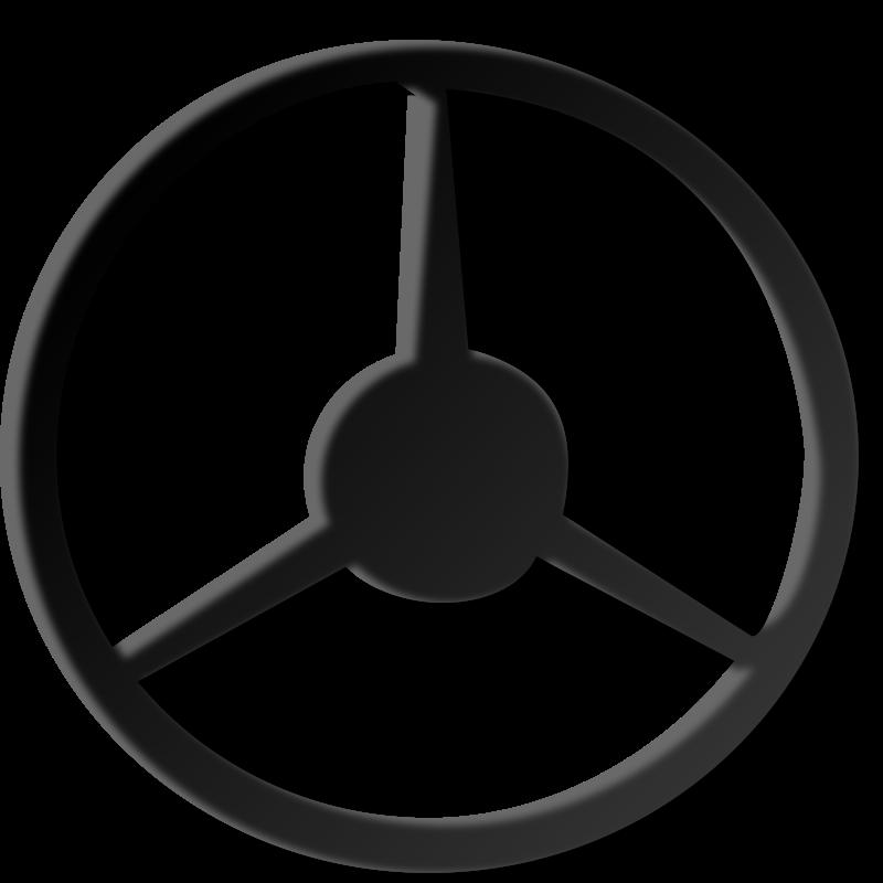 Free steering-wheel