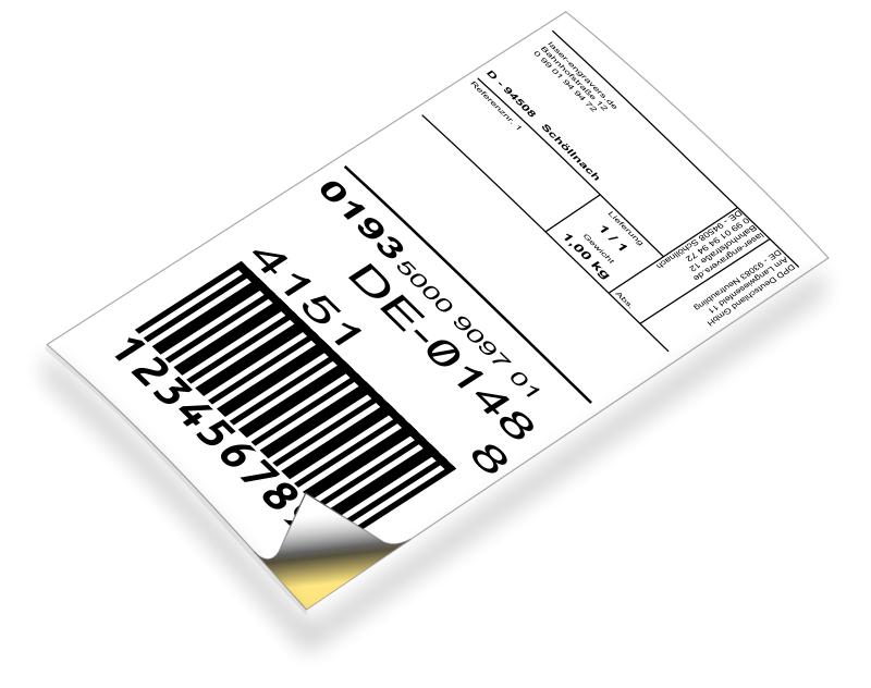Barcode label. Free clipart laser engravers