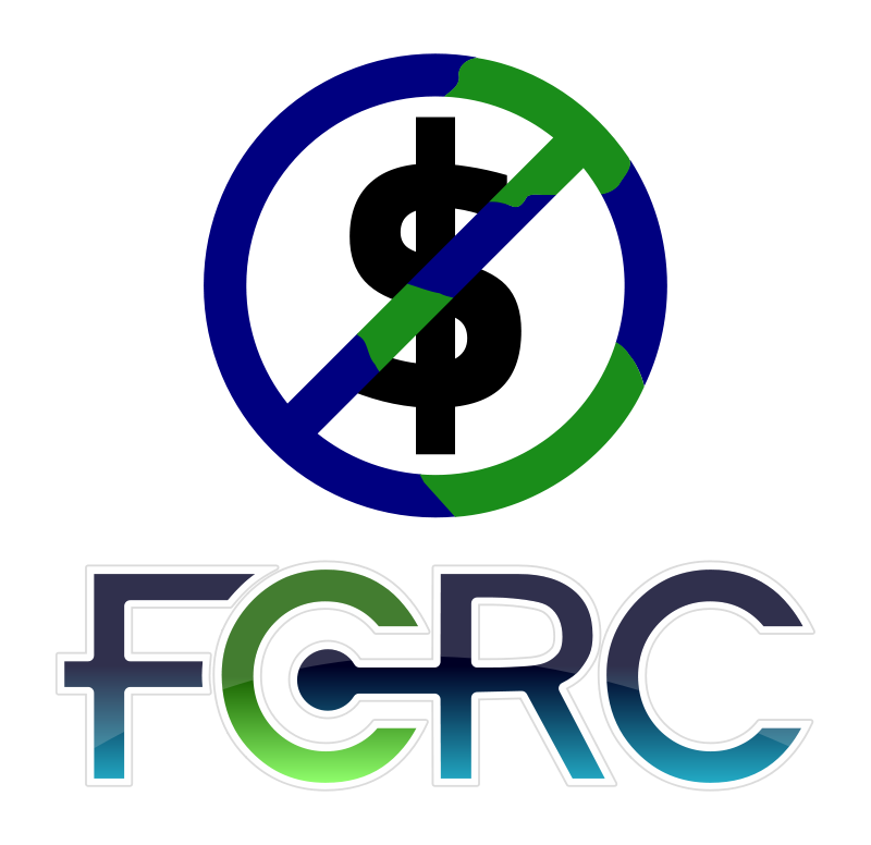 Free FCRC logo globe/money