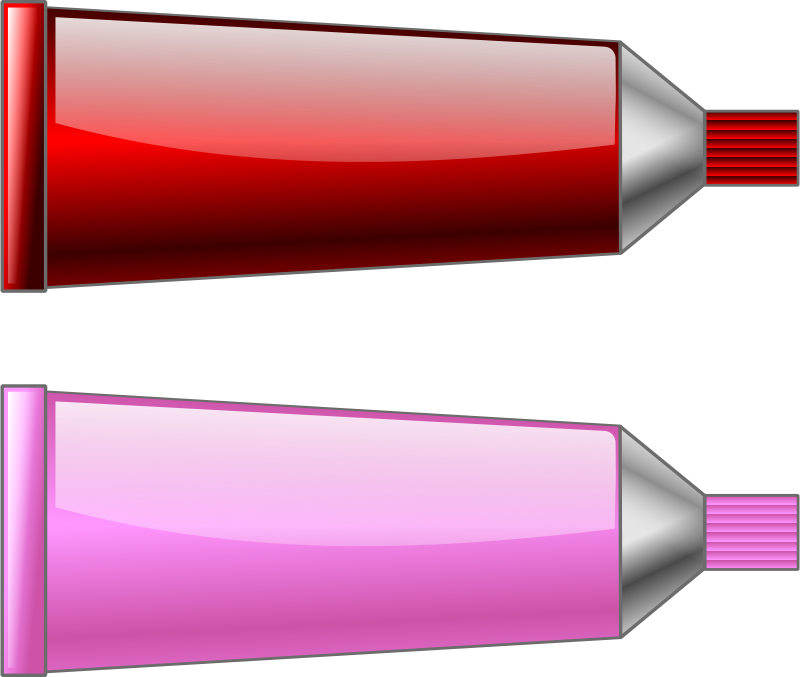 Free Color tube RedPink