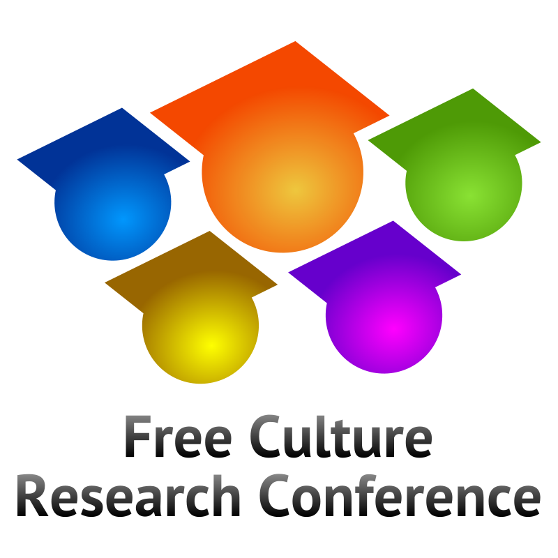Free Free Culture Research Conference logo V3