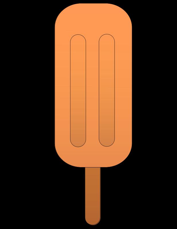 Free Orange popsicle.