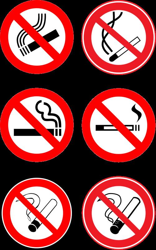 Free «No smoke!» collection