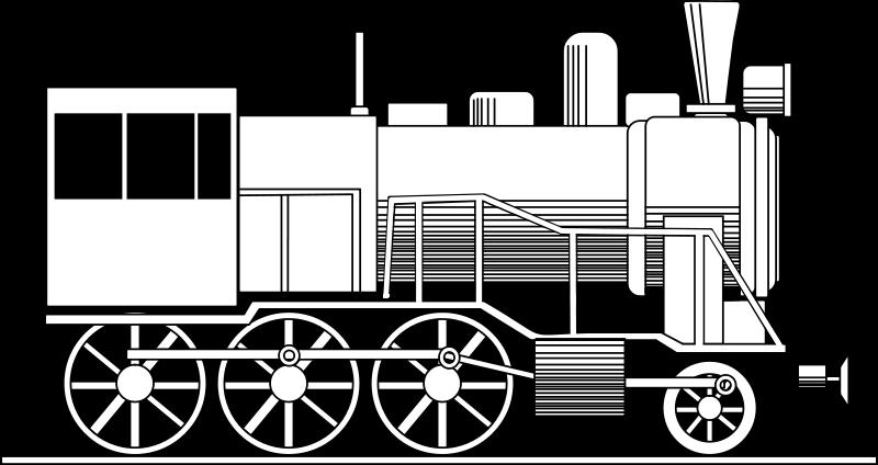 Free Retro locomotive