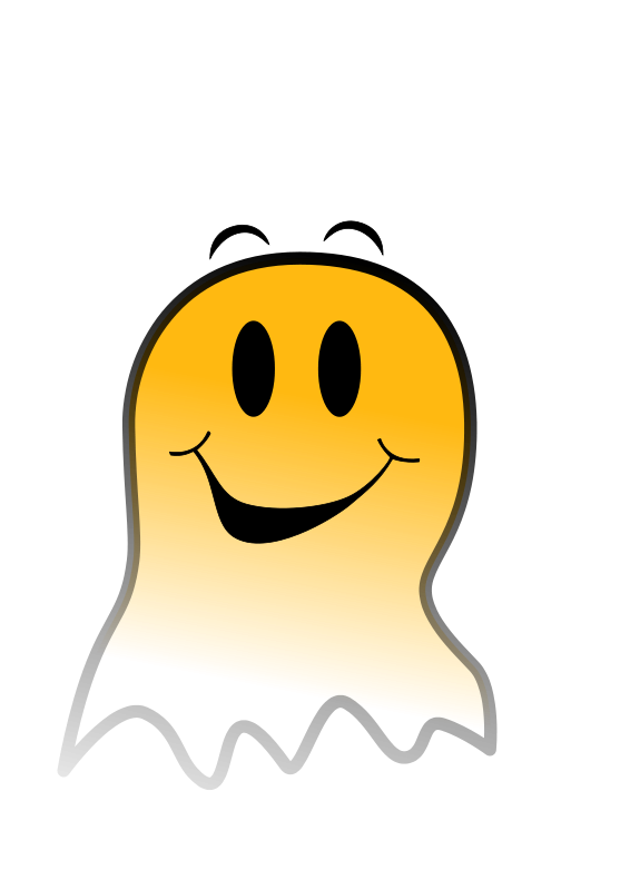 Free Ghost Smiley