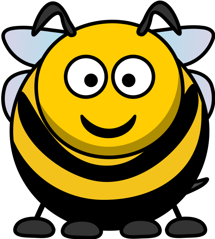 Free Cartoon Bee