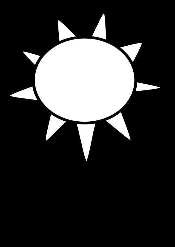 Free Sun Outline