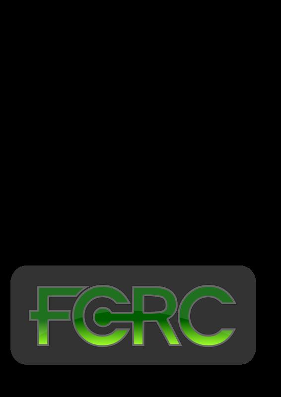 Free FCRC logo text 3