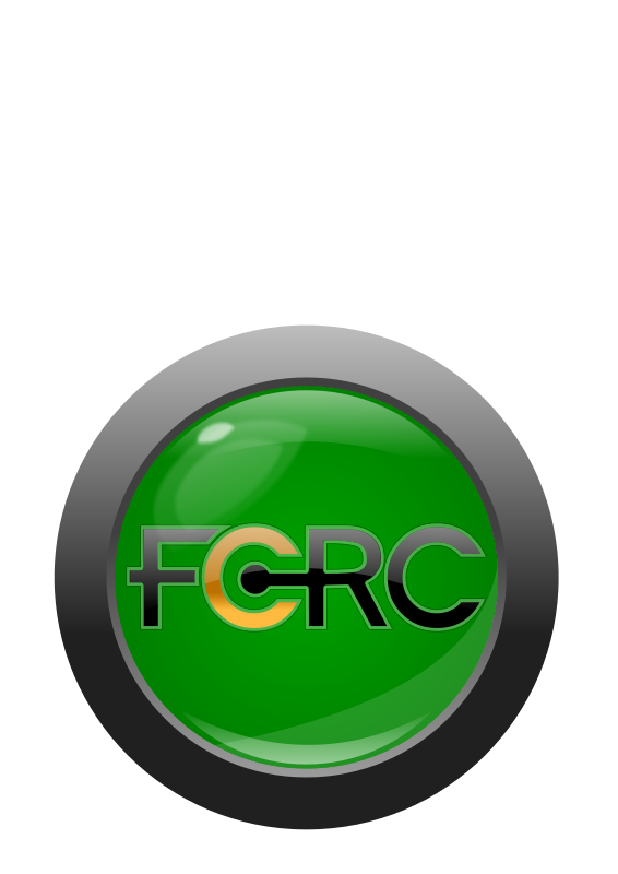 Free Clipart: FCRC button/logo with text | timeth