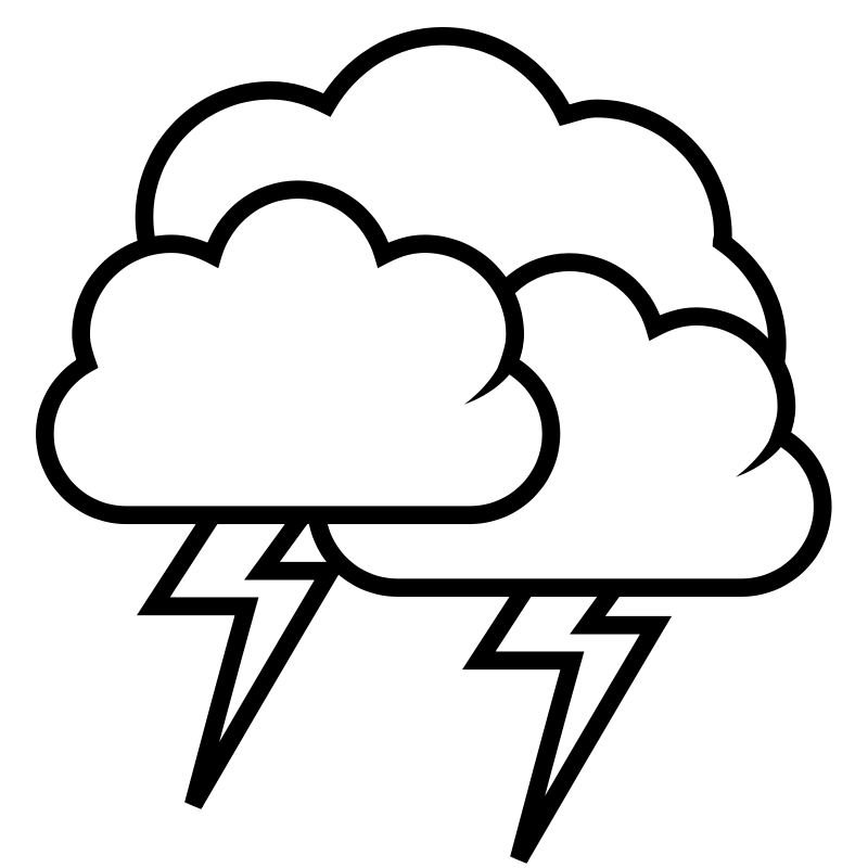 Free tango weather storm - outline