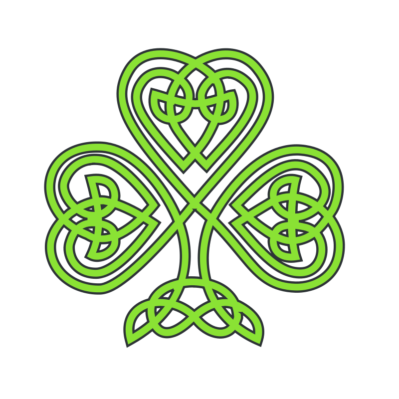 Free celtic shamrock