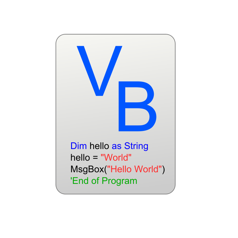 Free Visual Basic Icon