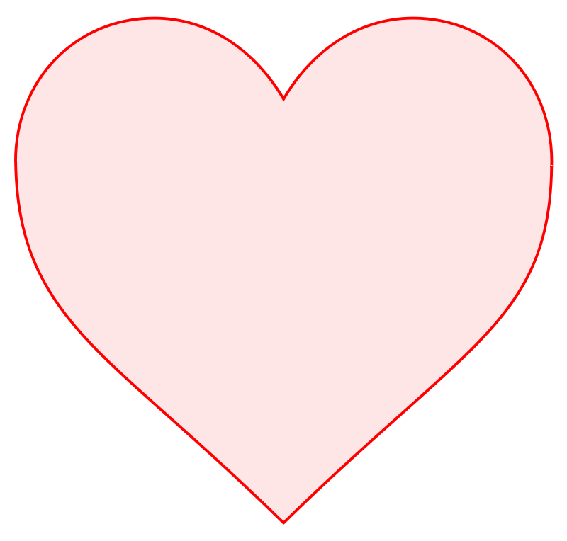 Free pink heart