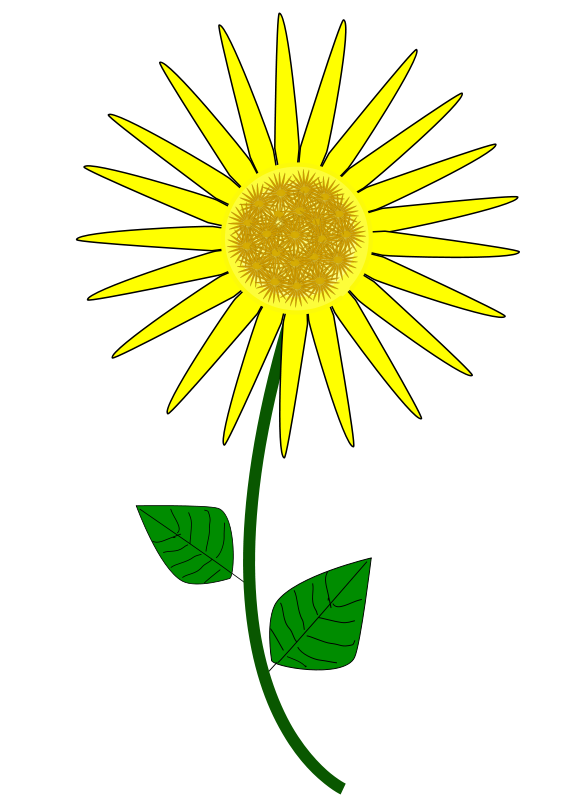 Free Flower, Sunflower