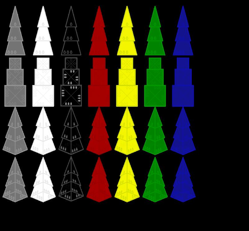Free Printing with Pyramids