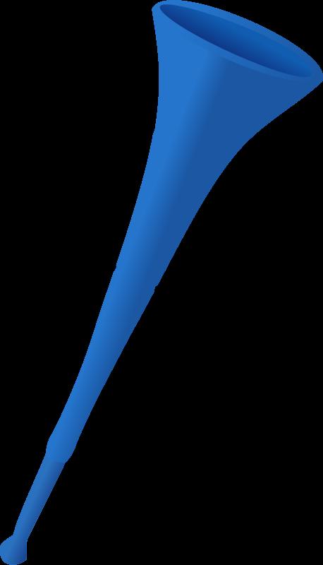 Free Blue Vuvuzela